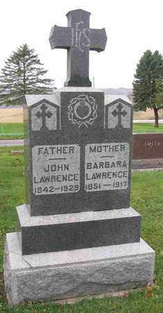 LAWRENCE, JOHN - Linn County, Iowa | JOHN LAWRENCE