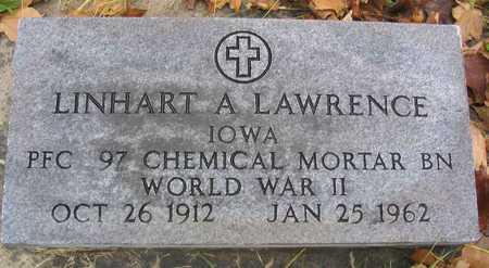 LAWRENCE, LINHART A. - Linn County, Iowa   LINHART A. LAWRENCE