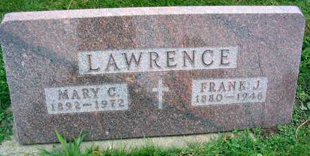 LAWRENCE, FRANK J. - Linn County, Iowa | FRANK J. LAWRENCE