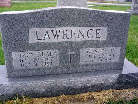 LAWRENCE, WESLEY G. - Linn County, Iowa   WESLEY G. LAWRENCE