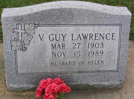 LAWRENCE, V. GUY - Linn County, Iowa | V. GUY LAWRENCE