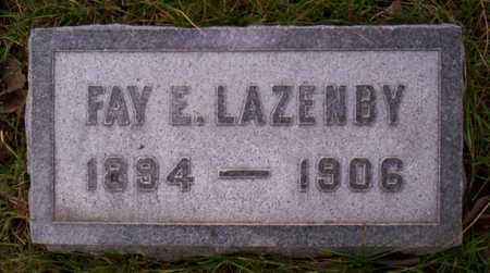 LAZENBY, FAY - Linn County, Iowa | FAY LAZENBY