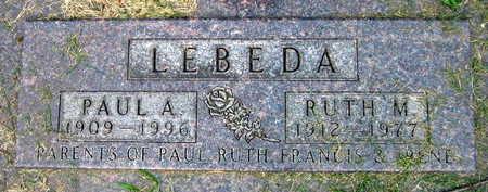 LEBEDA, RUTH M. - Linn County, Iowa | RUTH M. LEBEDA