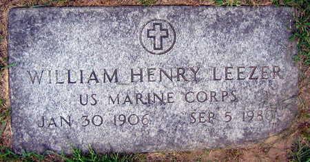 LEEZER, WILLIAM HENRY - Linn County, Iowa   WILLIAM HENRY LEEZER