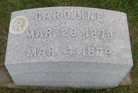 LEFEBURE, CAROLINE - Linn County, Iowa   CAROLINE LEFEBURE