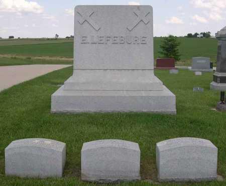 LEFEBURE, E. (FAMILY) - Linn County, Iowa | E. (FAMILY) LEFEBURE
