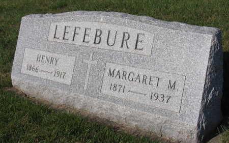 LEFEBURE, MARGARET M. - Linn County, Iowa | MARGARET M. LEFEBURE