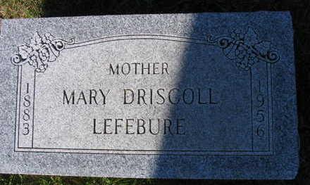 DRISCOLL LEFEBURE, MARY - Linn County, Iowa | MARY DRISCOLL LEFEBURE