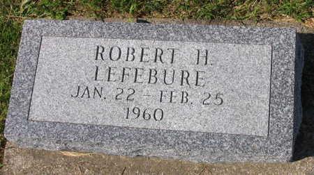 LEFEBURE, ROBERT H. - Linn County, Iowa | ROBERT H. LEFEBURE