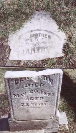 LEIGHTON, MARTHA - Linn County, Iowa   MARTHA LEIGHTON