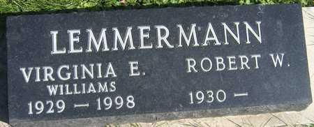 WILLIAMS LEMMERMANN, VIRGINIA E. - Linn County, Iowa | VIRGINIA E. WILLIAMS LEMMERMANN