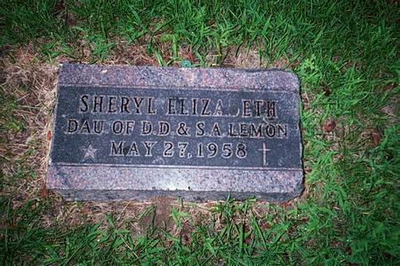 LEMON, SHERYL ELIZABETH - Linn County, Iowa | SHERYL ELIZABETH LEMON