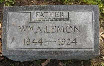 LEMON, WM. A. - Linn County, Iowa | WM. A. LEMON