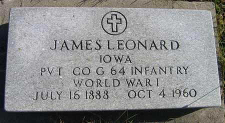 LEONARD, JAMES - Linn County, Iowa | JAMES LEONARD