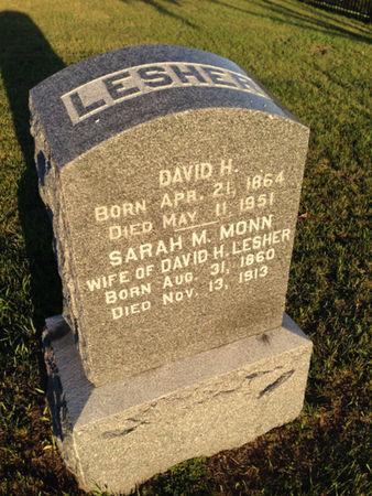 LESHER, DAVID H. - Linn County, Iowa | DAVID H. LESHER