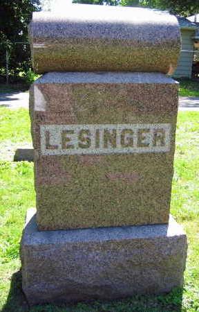 LESINGER, FAMILY STONE - Linn County, Iowa | FAMILY STONE LESINGER
