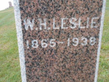 LESLIE, W. H. - Linn County, Iowa | W. H. LESLIE