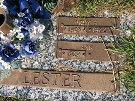 LESTER, ROY H. - Linn County, Iowa | ROY H. LESTER