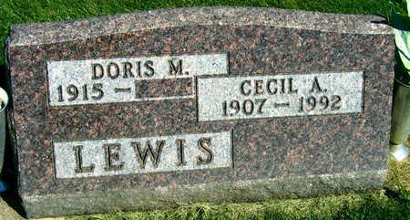 LEWIS, CECIL A. - Linn County, Iowa   CECIL A. LEWIS