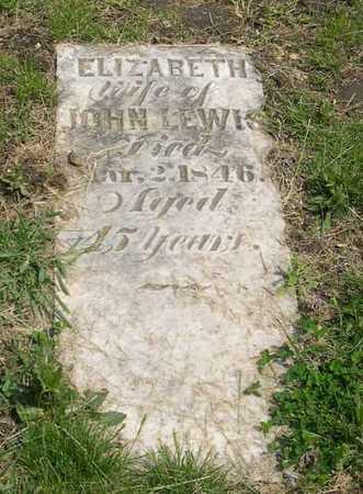 LEWIS, ELIZABETH - Linn County, Iowa   ELIZABETH LEWIS