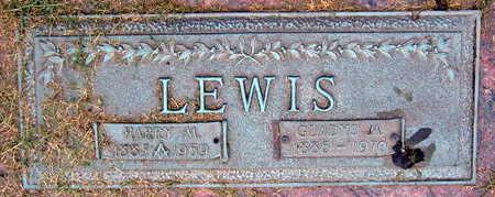 LEWIS, GLADYS M. - Linn County, Iowa | GLADYS M. LEWIS