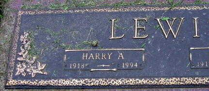 LEWIS, HARRY A. - Linn County, Iowa | HARRY A. LEWIS