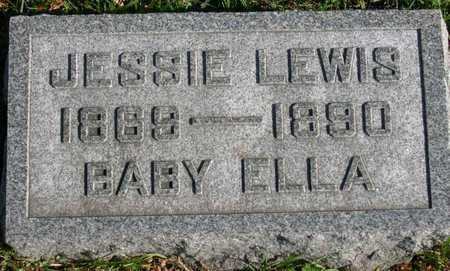 LEWIS, JESSIE - Linn County, Iowa | JESSIE LEWIS