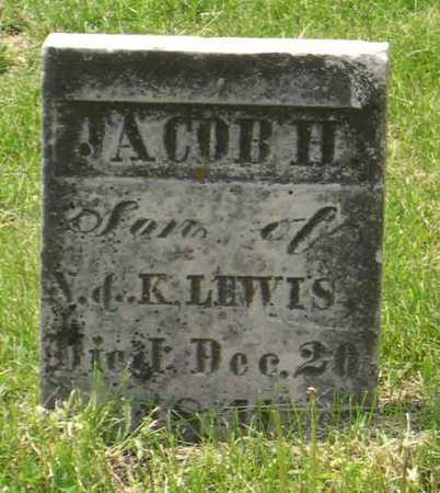 LEWIS, JACOB H. - Linn County, Iowa | JACOB H. LEWIS
