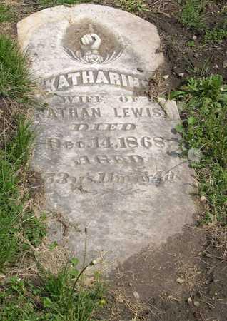 LEWIS, KATHARINE - Linn County, Iowa   KATHARINE LEWIS