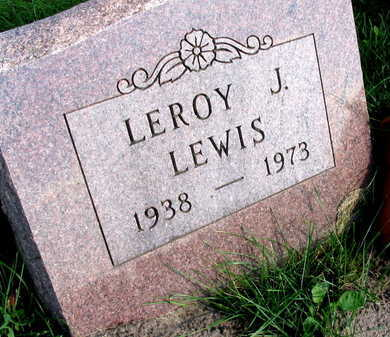 LEWIS, LEROY J. - Linn County, Iowa   LEROY J. LEWIS