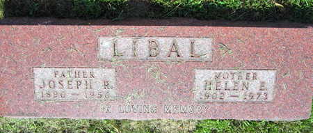 LIBAL, JOSEPH R. - Linn County, Iowa | JOSEPH R. LIBAL