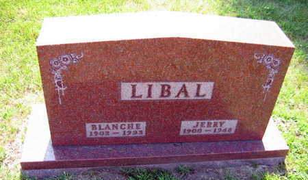 LIBAL, BLANCHE E. - Linn County, Iowa | BLANCHE E. LIBAL