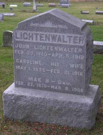 LICHTENWALTER, MAE B. - Linn County, Iowa | MAE B. LICHTENWALTER