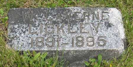 LICKLEY, W. LAVERNE - Linn County, Iowa | W. LAVERNE LICKLEY
