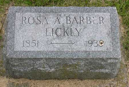 LICKLY, ROSA A. - Linn County, Iowa | ROSA A. LICKLY