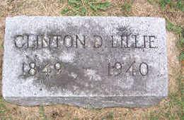LILLIE, CLINTON D. - Linn County, Iowa | CLINTON D. LILLIE