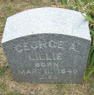 LILLIE, GEORGE A. - Linn County, Iowa | GEORGE A. LILLIE