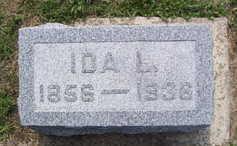 LILLIE, IDA L. - Linn County, Iowa   IDA L. LILLIE