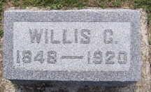 LILLIE, WILLIS C. - Linn County, Iowa   WILLIS C. LILLIE