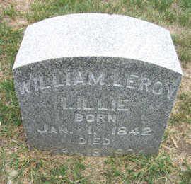 LILLIE, WILLIAM LEROY - Linn County, Iowa | WILLIAM LEROY LILLIE