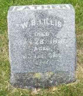 LILLIS, W. B. - Linn County, Iowa | W. B. LILLIS