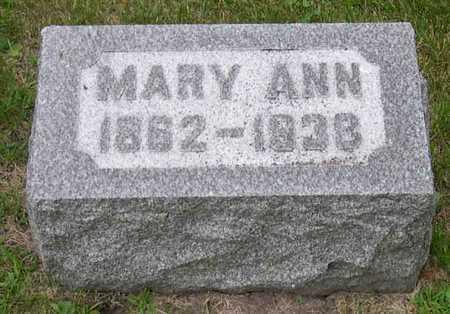 LINDAHL, MARY ANN - Linn County, Iowa | MARY ANN LINDAHL