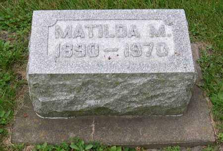 LINDAHL, MATILDA M. - Linn County, Iowa | MATILDA M. LINDAHL