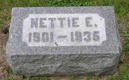 LINDAHL, NETTIE E. - Linn County, Iowa | NETTIE E. LINDAHL