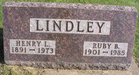 LINDLEY, HENRY L. - Linn County, Iowa | HENRY L. LINDLEY