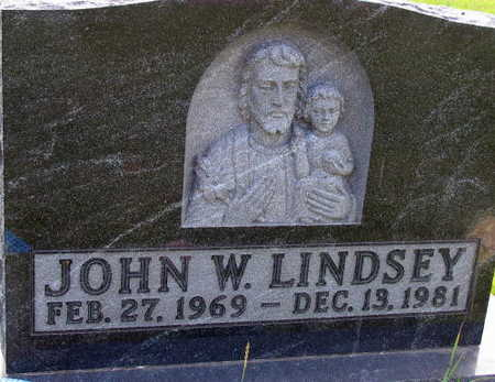 LINDSEY, JOHN W. - Linn County, Iowa | JOHN W. LINDSEY