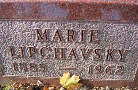 LIPCHAVSKY, MARIE - Linn County, Iowa   MARIE LIPCHAVSKY