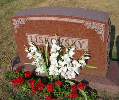 LISKOVSKY, FAMILY STONE - Linn County, Iowa   FAMILY STONE LISKOVSKY