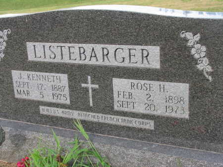LISTEBARGER, ROSE H. - Linn County, Iowa | ROSE H. LISTEBARGER