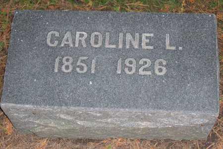 LOEHR, CAROLINE L. - Linn County, Iowa   CAROLINE L. LOEHR